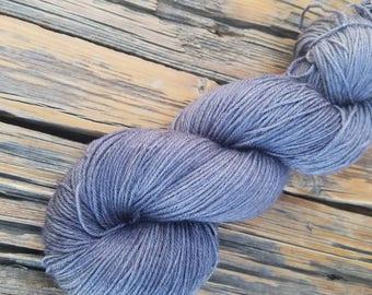 For Your Stocking - 450 yards Superwash Merino/Tussah Silk Fingering Weight