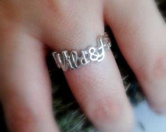 Wild and Free Jewelry - Wild and Free Ring - Wild and Free Sterling Silver - Wild and Free Sterling Silver Ring - Wild Spirit Jewelry