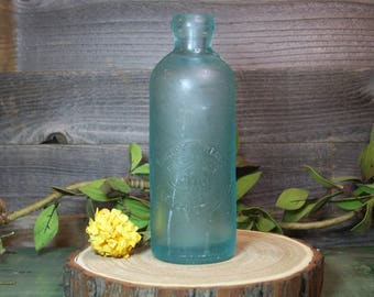 Antique Bottle- Robert Porter Brewing Co. Blob Top- Rare Bottle- Blue Green Glass Alexandria, VA- D48