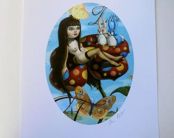 Little Tiny - Signed Giclee Print