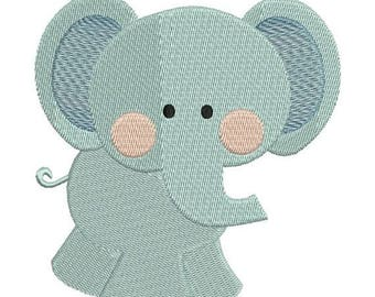 SALE 65% OFF Elephant Zoo Jungle Machine Embroidery Designs 4x4 & 5x7 Instant Download Sale