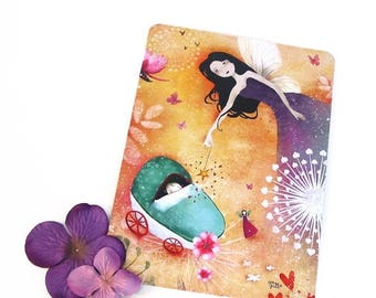 30% Off - Summer SALE The Fairy Godmother - Postcard