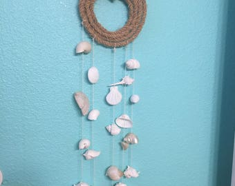 Seashell wind chime/mobile