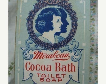 ONSALE 102 YR Old Antique Soap box Mint Condition
