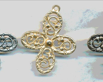 fabulous CROSS CHARN,  2 Pieces Vintage Design