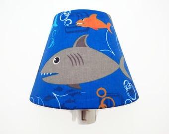 Night Light Kids - Shark Night Light - Kids Bedroom Nightlight - Under the Sea Boys Light - Shark Bedroom Decor - Bathroom Night Light