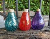 Salt Jars, Set of 3, Red,...