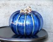 Big Brilliant Blue Glass ...