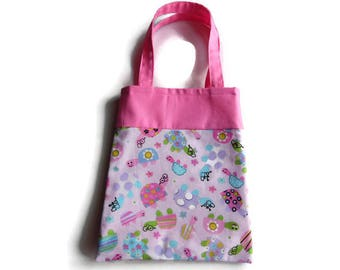 Turtle Gift Bag - Goodie Bag - Mini Tote