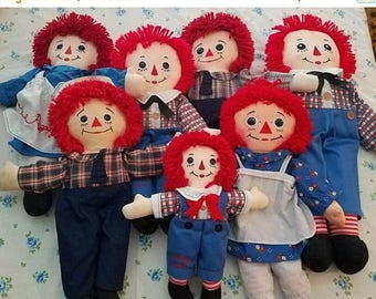 super sale raggedy Ann and Andy dolls lots