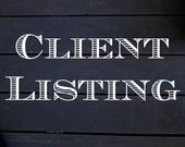 Janine Custom Client Listing-card pack