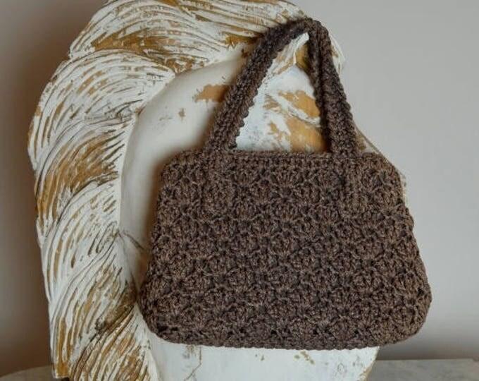 sale Vintage Purse, 50s Purse, Woven Purse, Taupe Purse, 1950s Handbag, Spring Purse, 50s Handbags, 1950s Purse, Day Purse, Hand Held Bag,