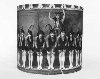 Table Lampshade Vintage Look Cabaret
