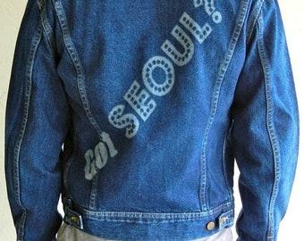"""40% OFF Vintage Lee """"Seoul-ful"""" Jacket"""