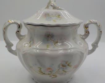 Royal Porcelain - Johnson Bros - Biscuit Jar - Made in England - Ornate - Absolutely beautiful - 1930 Era
