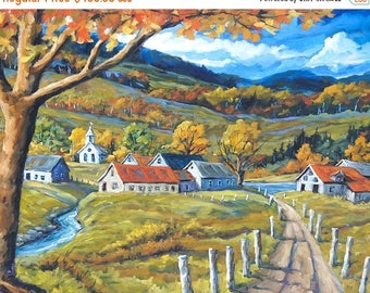 On Sale Family Farms Large Landscape created by Prankearts