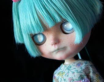 "Custom Blythe doll Original Takara Ufo A-GoGo ""Azura"" by Fausto&Gretchen. Layaway Accepted."