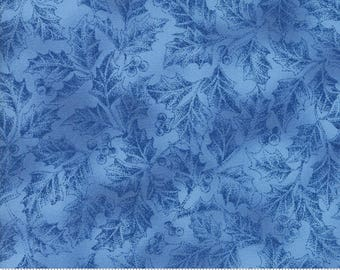 Forest Frost II  from Moda Holly in Sky Blue choose your length YES! Shipping is combined and continuous cuts