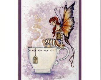 MATTED Fairy 5x7 print 8x10 mats by Amy Brown