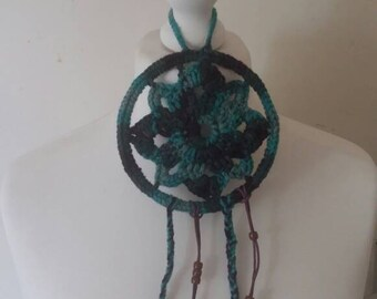 Crochet,beaded,dream catcher