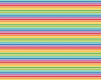 My Baptism Paper: Rainbow Stripes (12x12; qty 2)