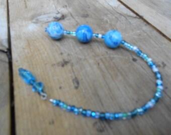 Blue Lace Agate Balls- Pleasure Balls-Love Balls - Female Stimulation- Ben Wa Balls-mature