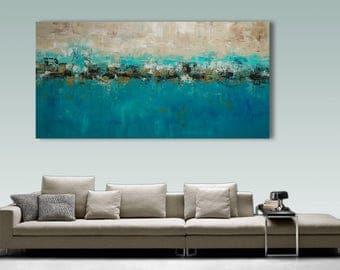 XXL large Palette Knife Painting, Modern Painting, Art, LARGE Painting, Wall decor, Wall Art, Canvas Art, Acrylic painting, Art by Catalin
