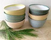 Stoneware Bowls, Pottery Bowls, Ceramic Bowls, Every day bowl, Set of Bowls, Farmhouse, Rustic Bowls, Cereal Bowl, Soup Bowl