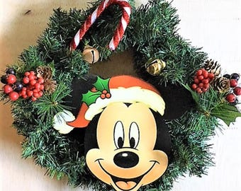 Mickey mouse wreath | Etsy