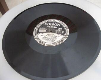Edison Diamond disc Record 51501 Alabamy Bound/What a Smile Can Do