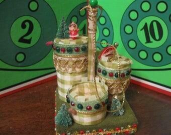 very old Christmas ornament handmade