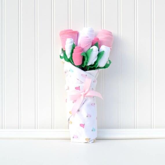 Basic Pink Bird Bouquet