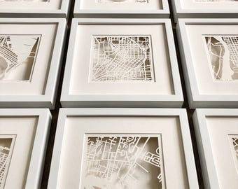 Custom Floating FRAME Set for Hand Cut maps
