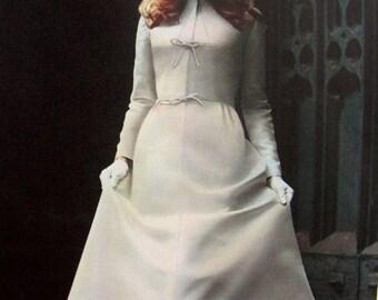 Sale:) UNCUT* 1960s Vogue Couturier Sewing Pattern 2629 by Designer Sybil Connolly // Misses' BRIDAL DRESS  * Size 14 * Bust 36 * Vogue Labe
