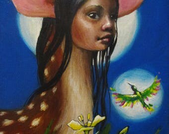 A State of Being - original painting by Kellie Marian Hill