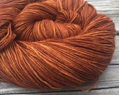 Hand Dyed Sock Yarn Coppe...