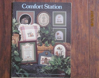 Comfort Station Counted Cross Stitch pattern book 33