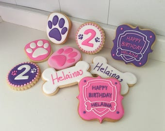 Paw Patrol Cookies - 1 dozen