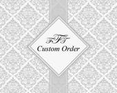 Custom Order for Wendy