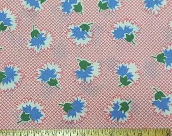Judie Rothermel Reproduction 30's Fabrics Marcus Bro. Aunt Grace Pink 1 Yard
