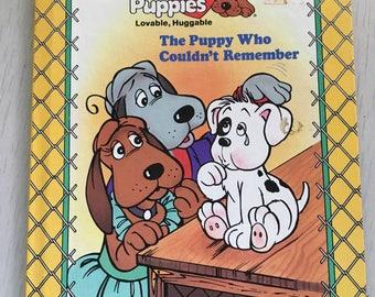 1986 hardcover Pound Puppies children's book