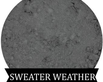 SWEATER WEATHER Medium  Matte Grey Eyeshadow