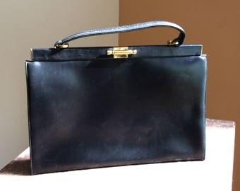 Structured handbag | Etsy