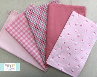 Pretty In Pink Fat Quarter Set