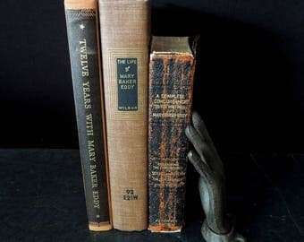 Mary Baker Eddy Book Collection Christian Scientist Religion - Vintage Books Religious