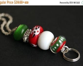BACK to SCHOOL SALE Christmas Lanyard. Badge Holder . Reindeer Lanyard. Badge Lanyard. Holiday Lanyard. Red and Green Lanyard. Id Lanyard. B