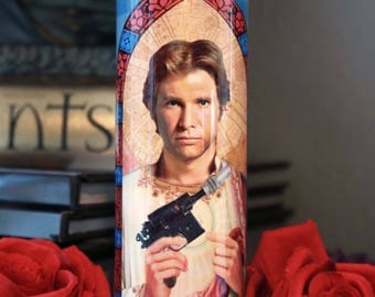 Saint Han Solo Prayer Candle / Star Wars / Force Awakens