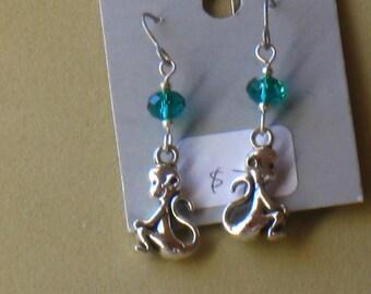 funny little monkey  earrings