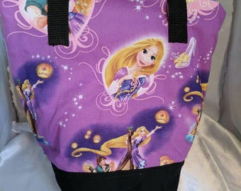 Tangled Rapunzel Insulated Zip-up Lunch bag