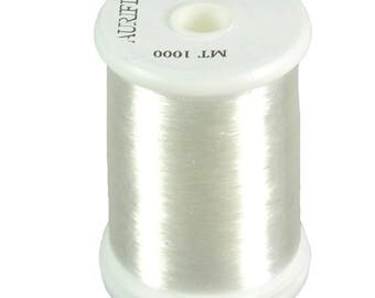 Aurifil Monofilament Invisible Nylon Thread Clear 1094 yard spool